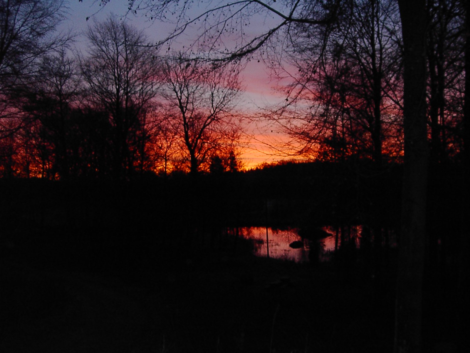 Solnedgång i Misterhult